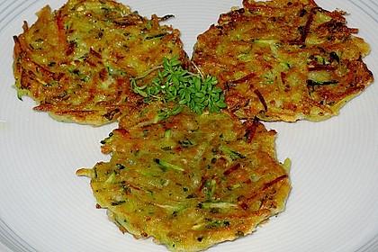Kalorienarme Gemüseküchlein 6