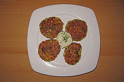 Kalorienarme Gemüseküchlein 24