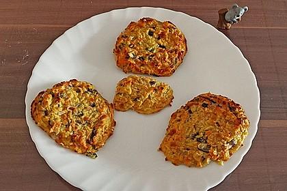 Kalorienarme Gemüseküchlein 3