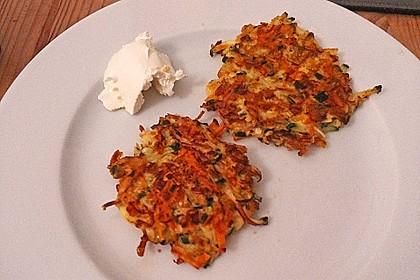 Kalorienarme Gemüseküchlein 9