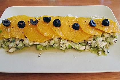 Italienischer Orangen - Fenchel Salat 2