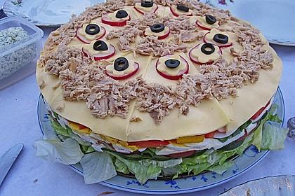 Party - Salattorte (Bild)