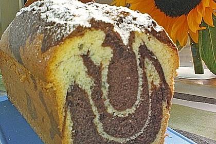 Zebrakuchen Mit Kirschen Laktosefrei