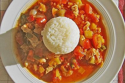 Hähnchen - Chili mit roten Linsen 1