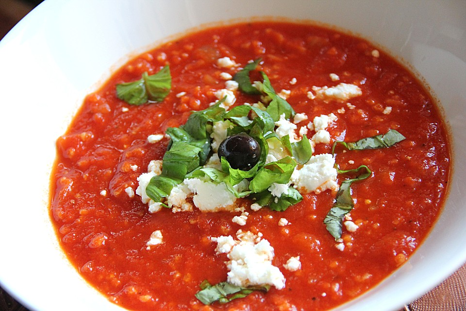 tomaten hirse suppe mit feta von kessichen chefkoch. Black Bedroom Furniture Sets. Home Design Ideas