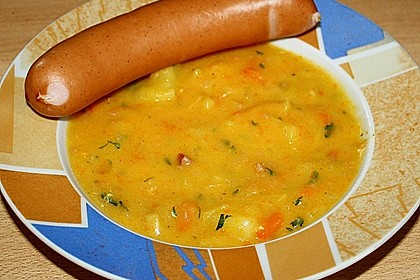 Sächsische Kartoffelsuppe 4