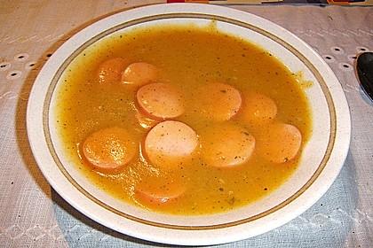 Sächsische Kartoffelsuppe 7