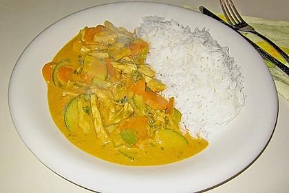 Thailändische Wokpfanne mit Kokosmilch 15