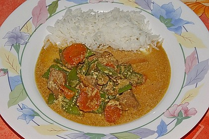 Thailändische Wokpfanne mit Kokosmilch 26