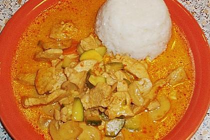 Thailändische Wokpfanne mit Kokosmilch 38
