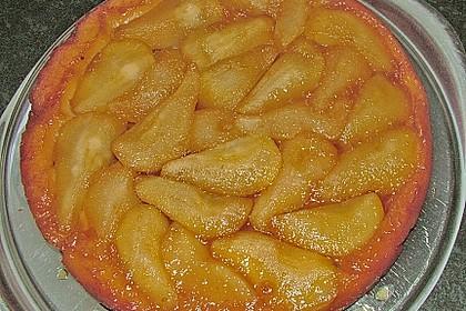 Karamellisierte Birnen - Tarte