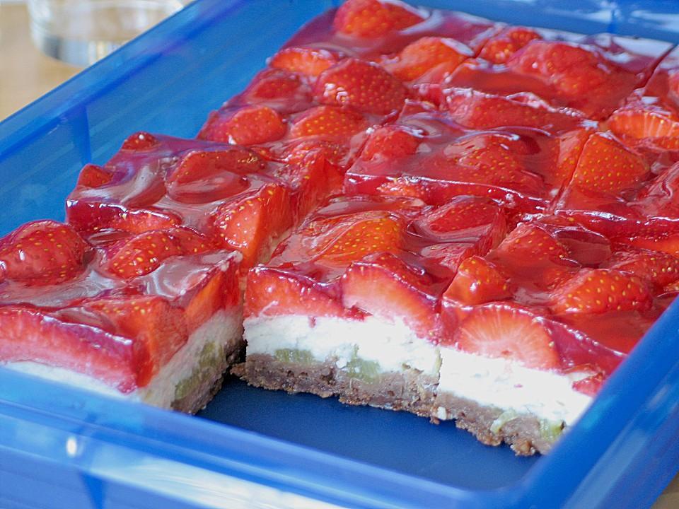 Erdbeer Rhabarber Pie Von Haianne Chefkoch De