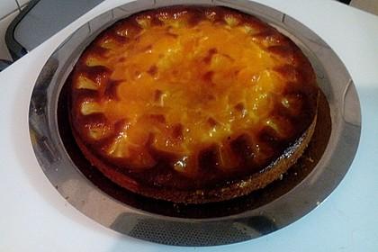Ananas - Mandarinen - Blechkuchen 11