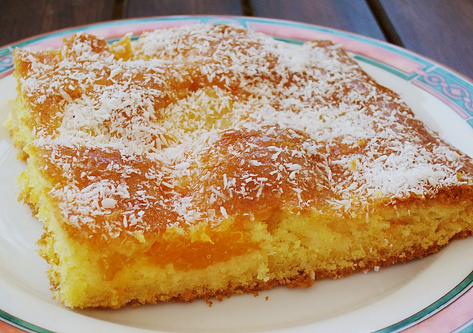 Ananas Mandarinen Blechkuchen Von Elli K Chefkoch De