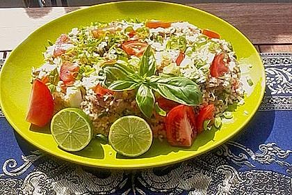Gebratener Reis mit Schweinefleisch (Bild)