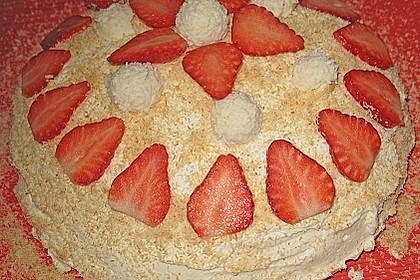 Erdbeer-Raffaello-Torte 150
