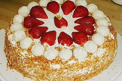 Erdbeer-Raffaello-Torte 182