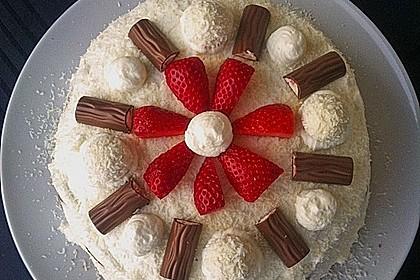 Erdbeer-Raffaello-Torte 80