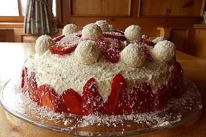 Erdbeer-Raffaello-Torte 51