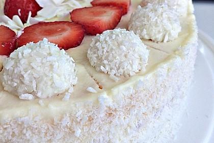 Erdbeer-Raffaello-Torte 2