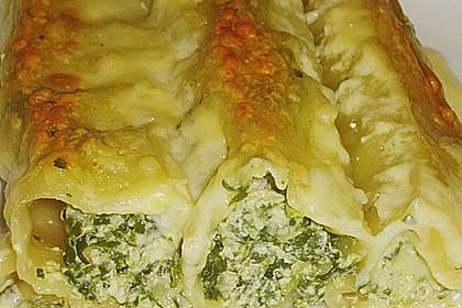 Cannelloni mit Ricotta - Füllung