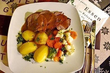 Schweinerollbraten in Biersauce 1