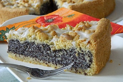 Mohn-Pudding-Kuchen 2