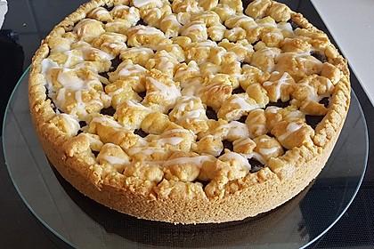 Mohn-Pudding-Kuchen 1