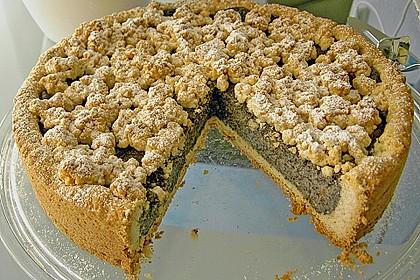 Mohn-Pudding-Kuchen 16