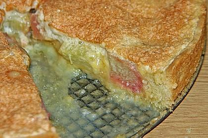 Rhabarberkuchen mit Rahmguß 7