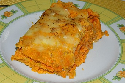 Möhren-Lasagne 2