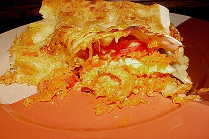 Möhren-Lasagne 29