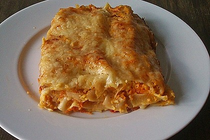Möhren-Lasagne 7