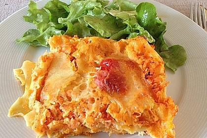 Möhren-Lasagne 1