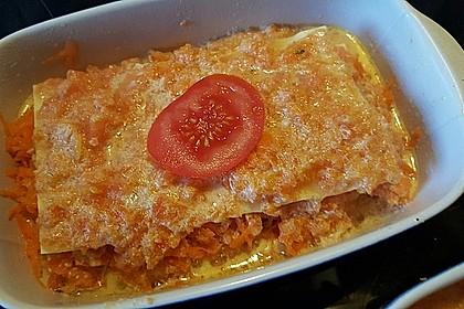 Möhren-Lasagne 9