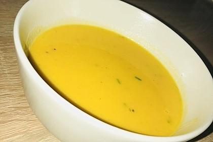 Möhren - Ingwer - Suppe 6