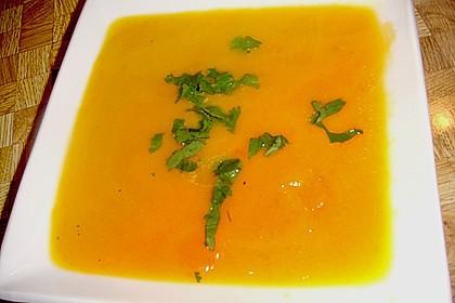 Möhren - Ingwer - Suppe 26