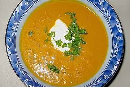 Möhren - Ingwer - Suppe 8
