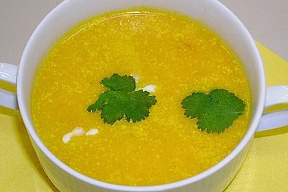Möhren - Ingwer - Suppe 32