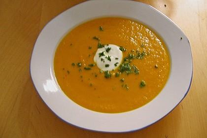 Möhren - Ingwer - Suppe 28