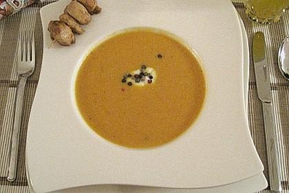 Möhren - Ingwer - Suppe 14