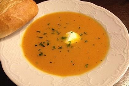 Möhren - Ingwer - Suppe 12