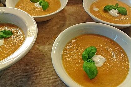 Möhren - Ingwer - Suppe 3