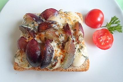 Käse - Trauben - Toast 1