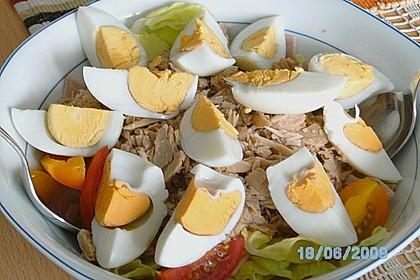 Bunter Salat mit Putenbruststreifen 8