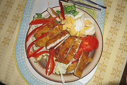 Bunter Salat mit Putenbruststreifen 9