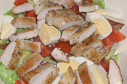 Bunter Salat mit Putenbruststreifen 6
