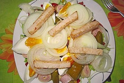 Bunter Salat mit Putenbruststreifen 12