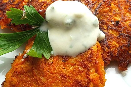 Möhren - Kartoffel - Puffer (Bild)