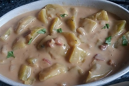 Bechamel - Kartoffeln 16